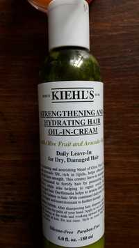 Kiehl's - Strengthening and hydrating hair oil-in-cream