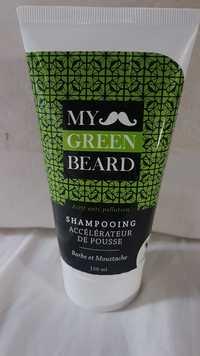 My Green Beard - Barbe et moustache - Shampooing accélérateur de pousse