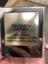 Estee Lauder - Re-nutriv - Crème yeux éclat nourrissante