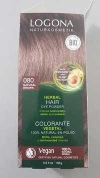 Logona - Colorante vegetal 080 natural brown
