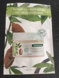 KLORANE - Masque 3 en 1  multi-usage