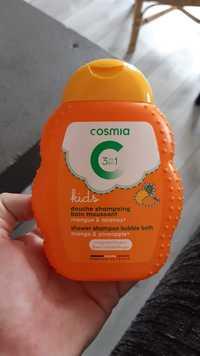 COSMIA - 3 en 1 Kids - Douche shampooing bain moussant