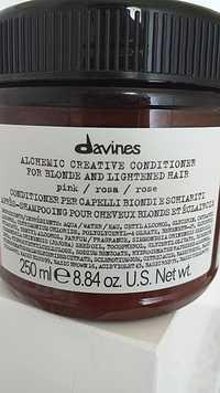 DAVINES - Après-shampooing pour cheveux blonds et éclaircis