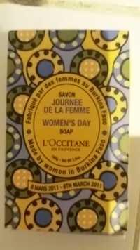 L'OCCITANE - Savon journée de la femme