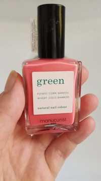 Manucurist - Green natural nail colour