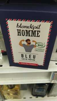 BLONDÉPIL - Homme Bleu - Eau de parfum