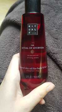 Rituals - The Ritual of ayurveda - Natural dry oil for body & hair