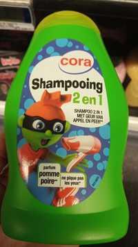 Cora - Shampooing 2 en 1 parfum pomme poire
