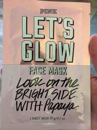VICTORIA'S SECRET - Pink let's glow - Face mask