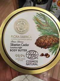 NATURA SIBERICA - Flora siberica - Luxurious night body butter