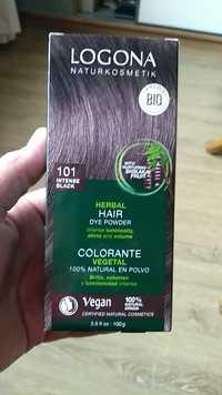 Logona - Herbal hair - Colorante vegetal 101 intense black