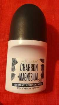 SCHMIDT'S - Charbon + magnésium - Déodorant certifié naturel
