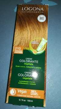 Logona - Crème colorante végétale 210 couleurs d'automne