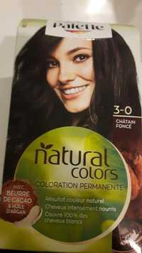 PALETTE - Natural colors - Coloration châtain foncé 3-0
