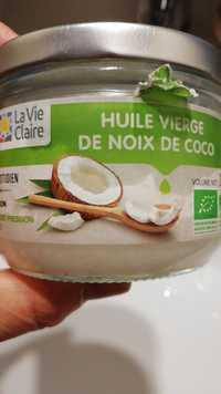 La Vie Claire - Huile vierge de noix de coco