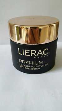 LIÉRAC - Premium - La crème voluptueuse anti-âge absolu