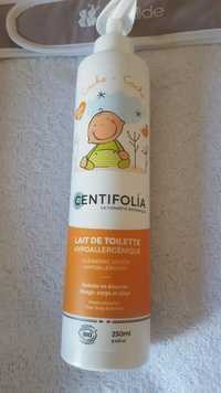 CENTIFOLIA - Lait de toilette hypoallergénique