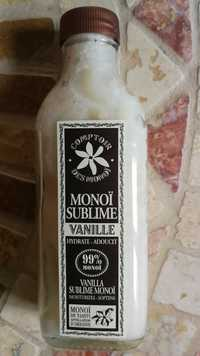 COMPTOIR DES MONOÏ  - Monoï sublime - Hydrate-adoucit