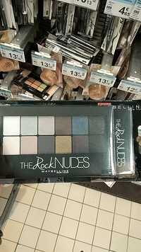Maybelline - The Rock Nudes - Palette ombre à paupières