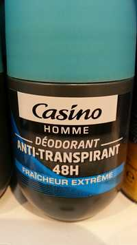 CASINO - Homme - Déodorant anti-transpirant 48H