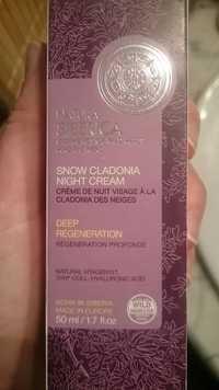 NATURA SIBERICA - Crème de nuit visage à la cladonia des neiges