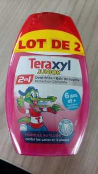 TERAXYL - Junior - Dentifrice + bain de douche