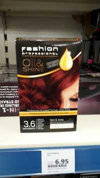 FASHION PROFESSIONAL - Oil & shine - Permanent hair color 3.6 Mahogany