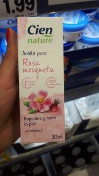 Cien - Nature - Aceite puro rosa mosqueta