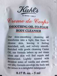 Kiehl's - Crème de corps - Smoothing oil-to-foam body cleanser