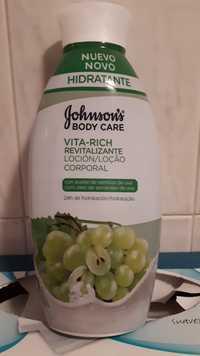 JOHNSON'S - Vita-rich revitalizante - Locion corporal