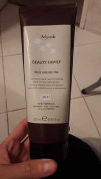 NOOK - Beauty family milk sublime pak - Masque cheveux secs et fragilisés