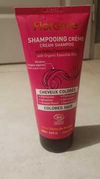 FLORAME - Shampooing crème aux huiles essentielles bio