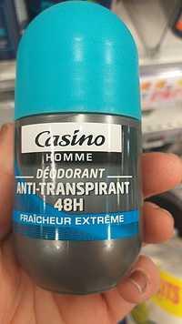 CASINO - Fraîcheur extrême - Déodorant homme 48h