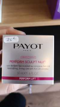 Payot - Perform sculpt nuit