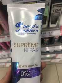 HEAD & SHOULDERS - Hair & scalp conditioner - Suprême repair with argan oil