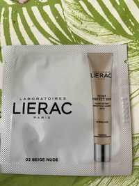 LIÉRAC - Fluide de teint perfecteur lumière 02 beige nude SPF20
