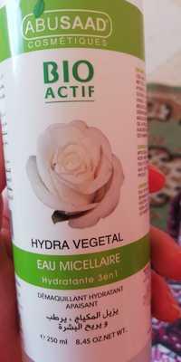ABUSAAD - Bio actif - Hydra végétal, eau micéllaire