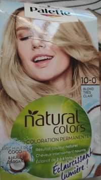 SCHWARZKOPF - Palette natural colors - Coloration permanente 10-0 blond très clair