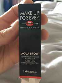 Make up for ever - Aqua brow - Correcteur sourcils waterproof