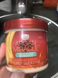 African Pride - Argan miracle - Curly smoothie