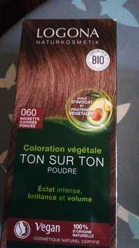 Logona - Coloration végétale ton sur ton  poudre 060 noisette cuivrée foncée