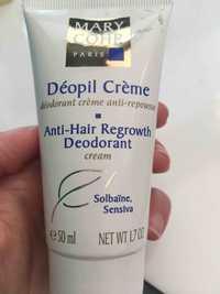 MARY COHR - Déopil crème - Déodorant crème anti-repousse