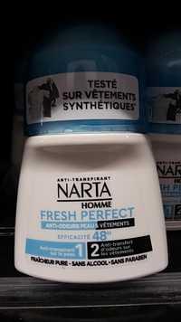 NARTA - Fresh Perfect Anti-odeurs Peau & Vêtements 48 h