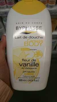 BYPHASSE - Caresse body - Lait de douche au fleur vanille de Madagascar