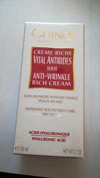 Guinot - Vital anti-rides 888 - Crème riche