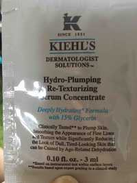 KHIEL'S - Hydro-plumping Re-texturizing - Serum concentrate