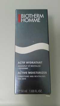 Biotherm - Actif hydratant - Assouplit et revitalise l'épiderme