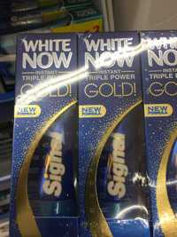 SIGNAL -  White now gold - Dentifrice