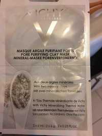 VICHY - Masque argile purifiant pores