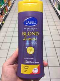 LABELL - Blond lumière filtre UV - Shampooing